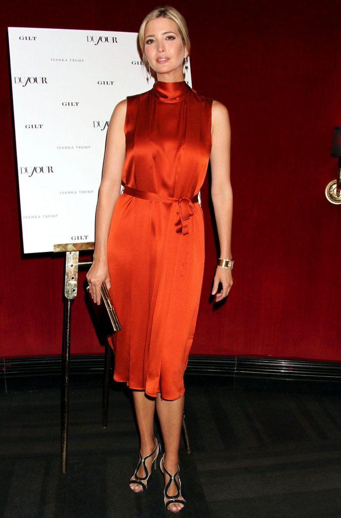 Ivanka Trump Hot red