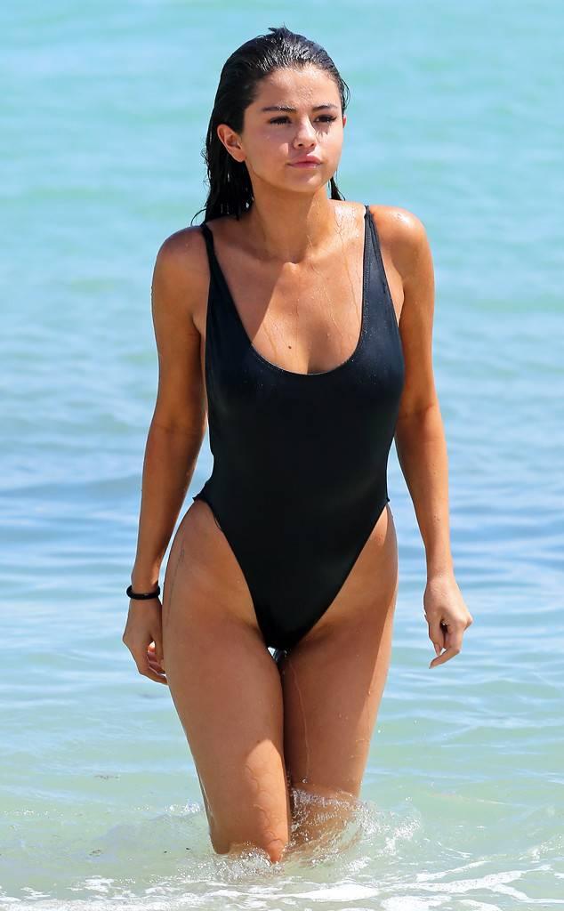 selena gomez hot swimsuit