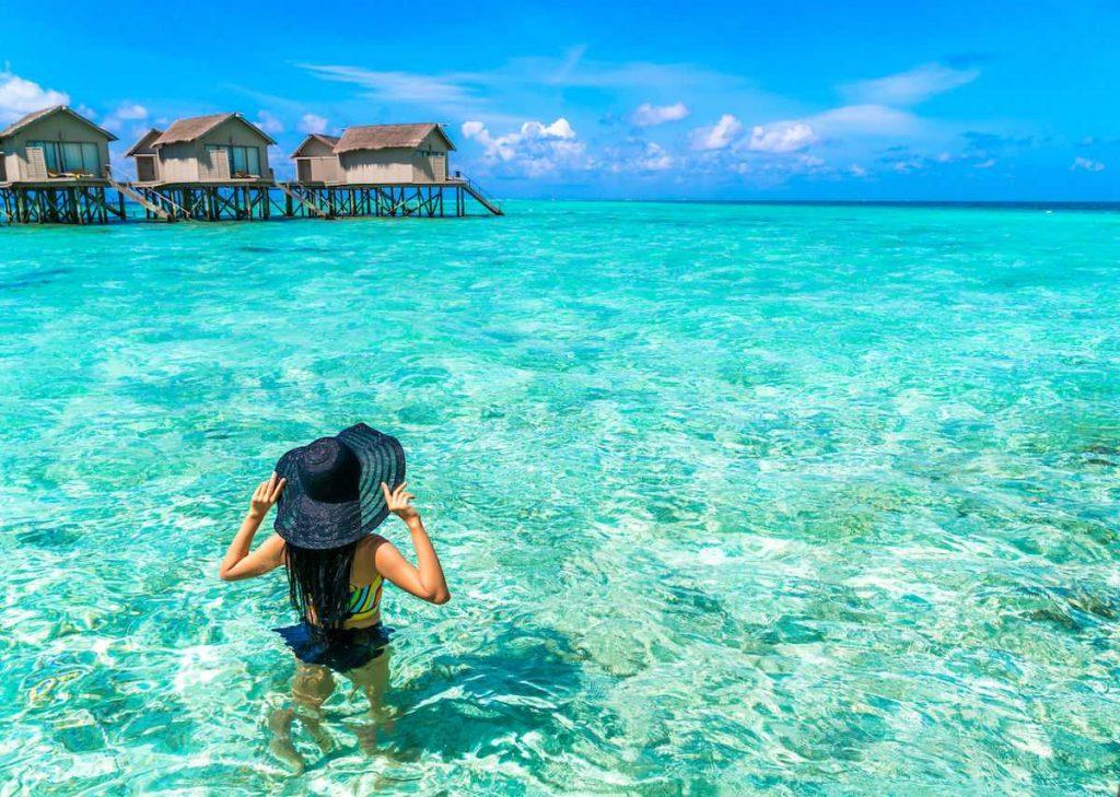 Maldives water