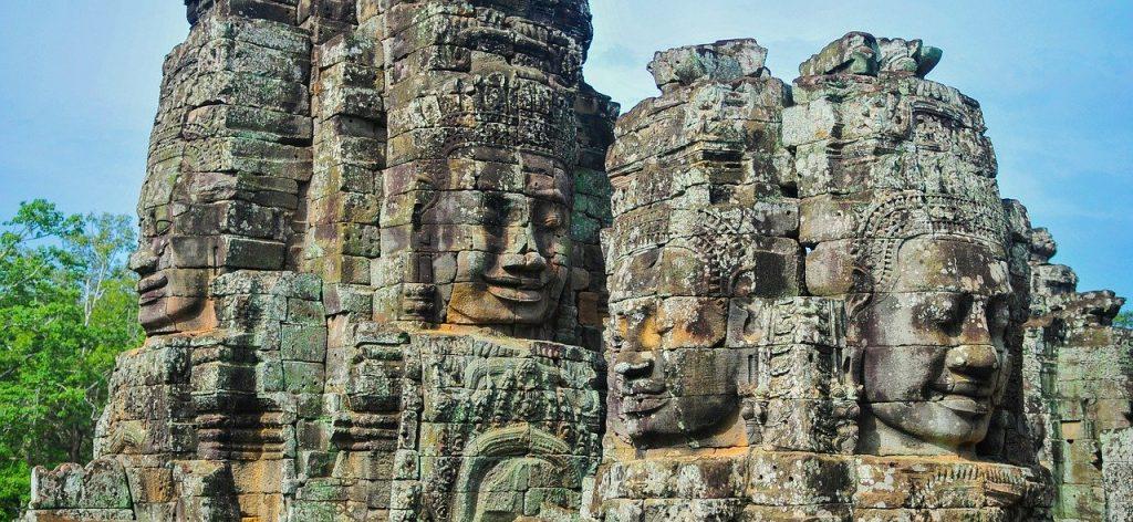 Angkor wat monument