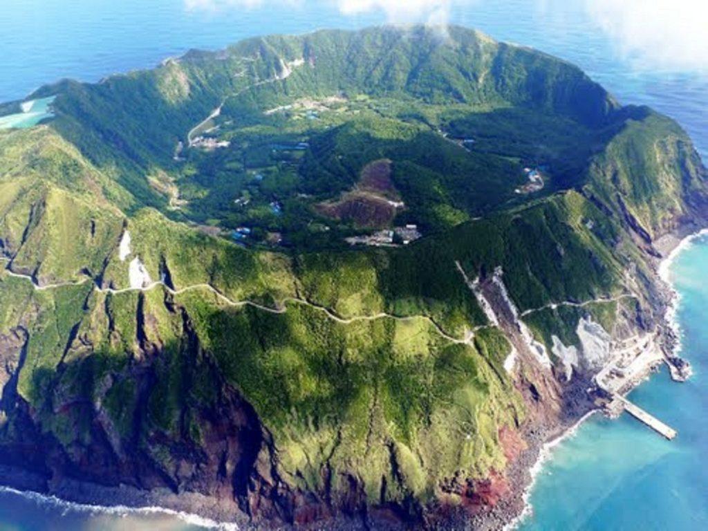 Aogashima Volcano View