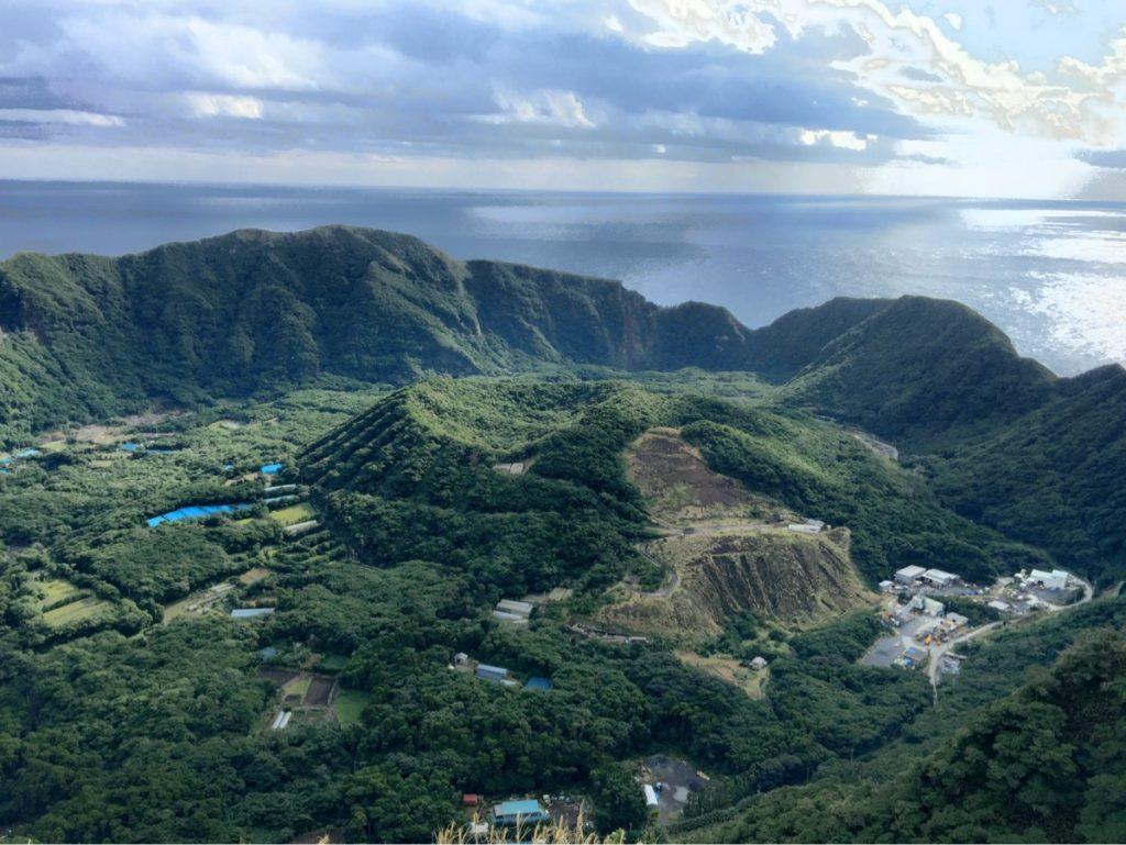 Aogashima island image