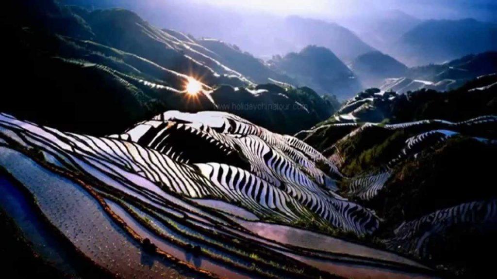 Longji Rice Terraces Image