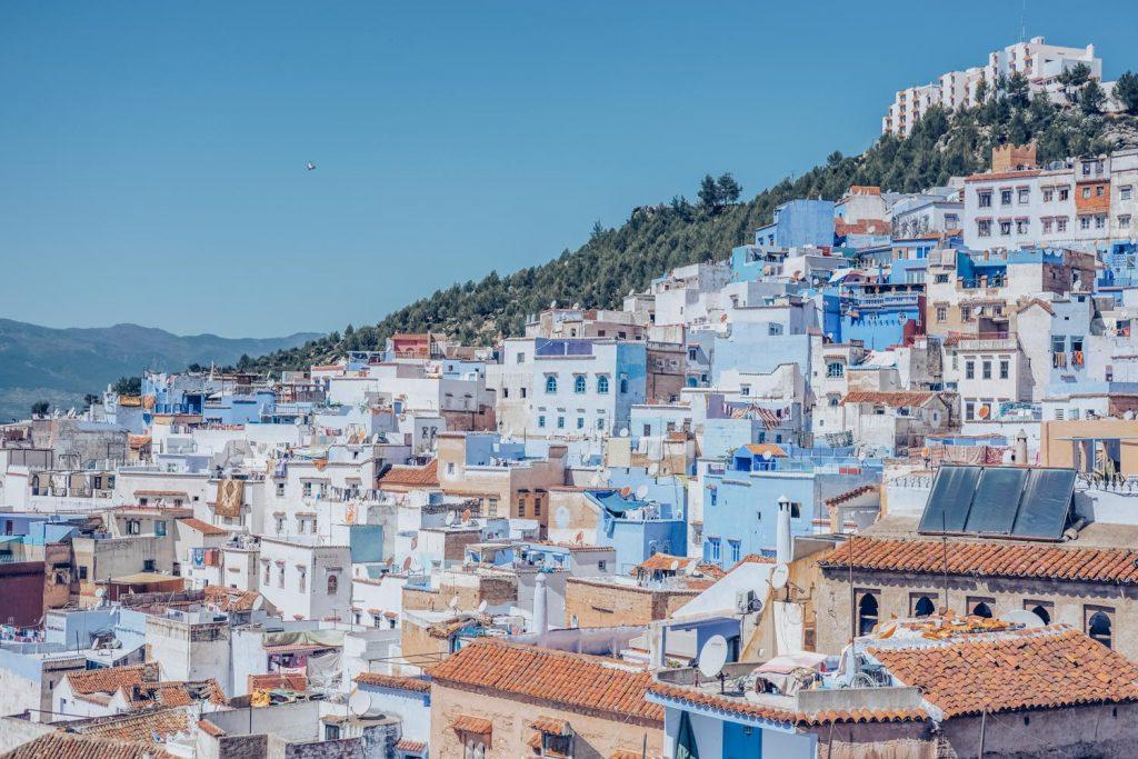 Morocco city view
