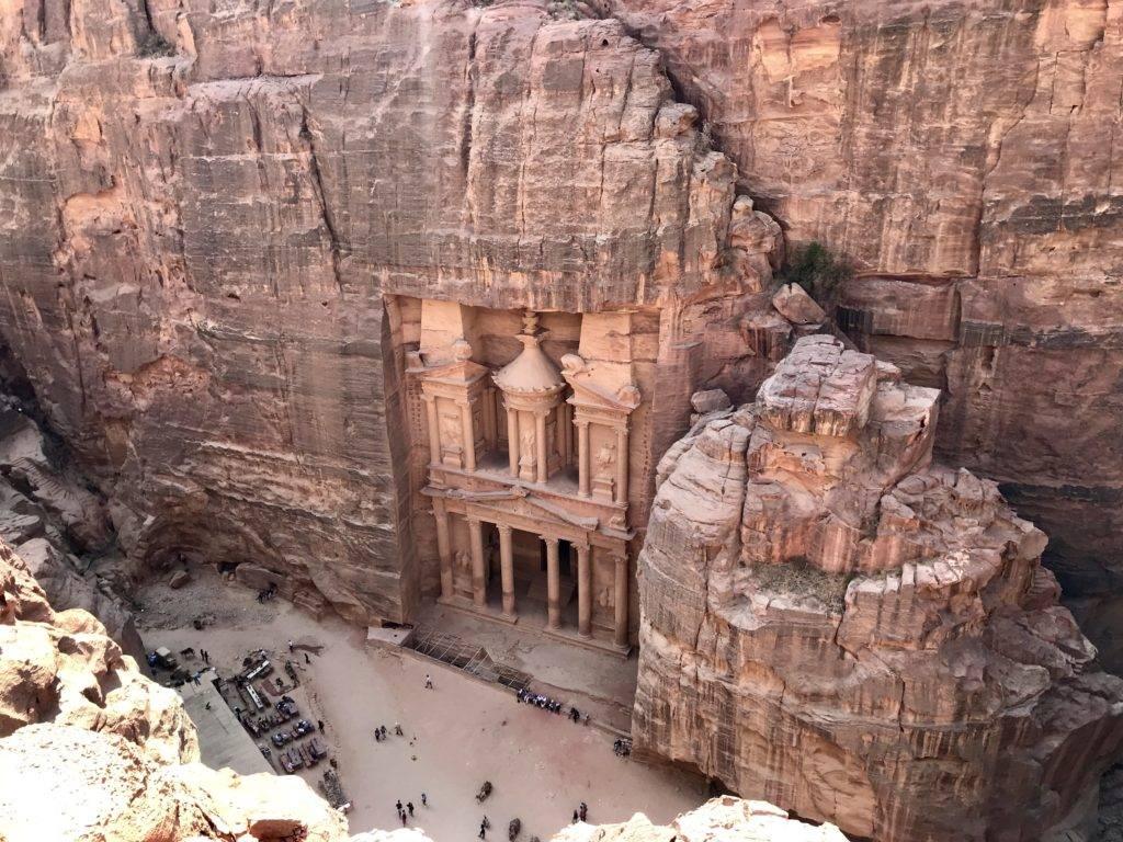 Petra Jordan Arial View