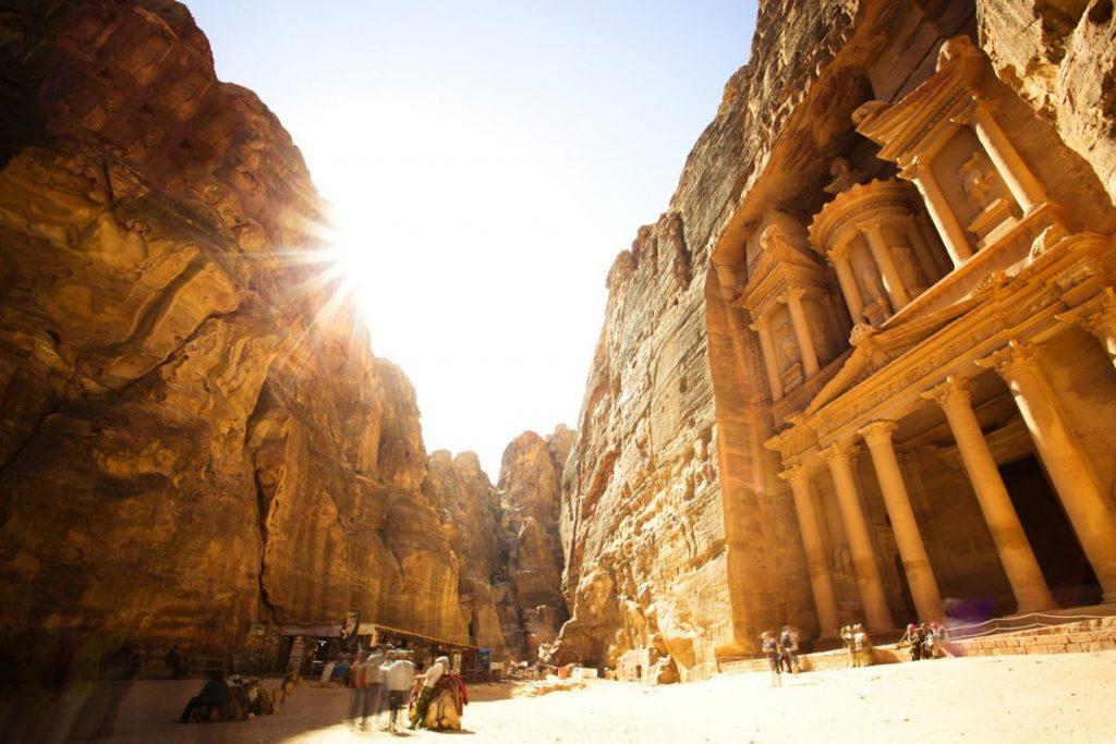 Petra Jordan history