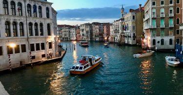 Venice Italy Waterways