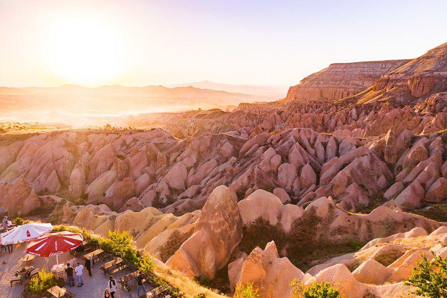 Cappadocia red valley
