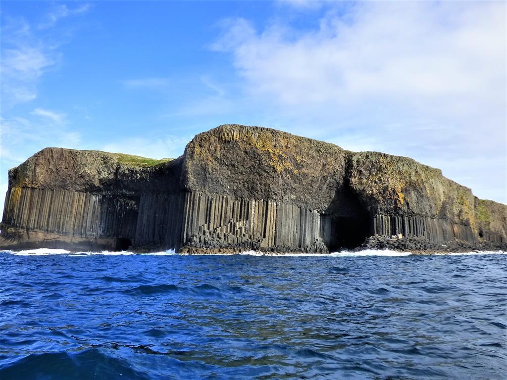 Fingals Cave Atlantic Ocean