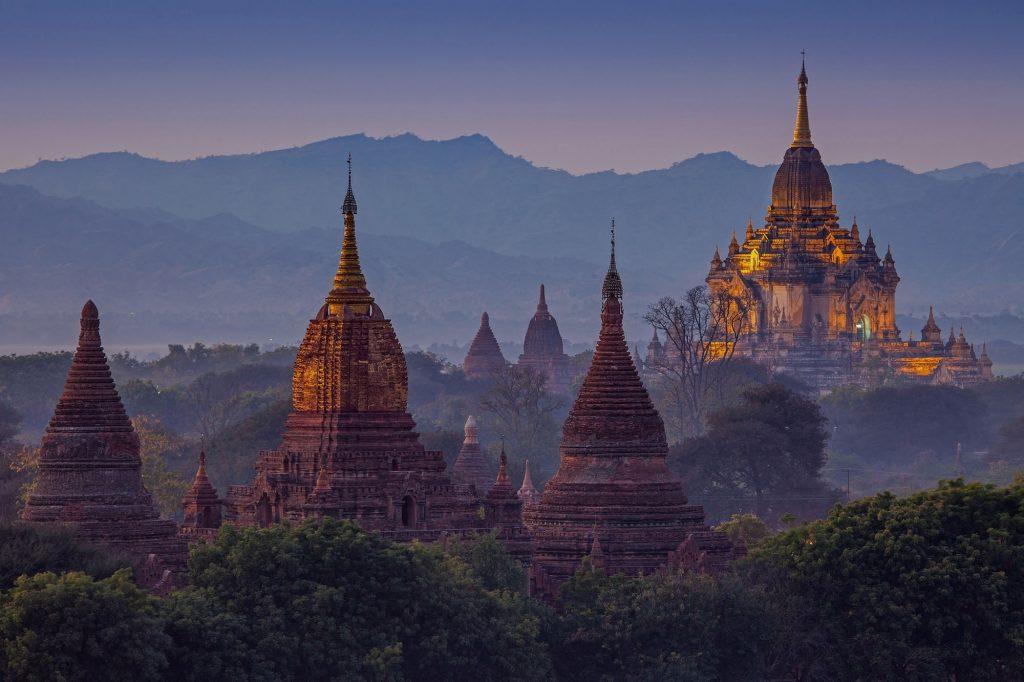 Ancient temple in Bagan
