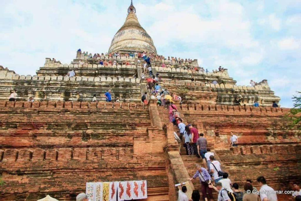 Bagan Temple Climbing