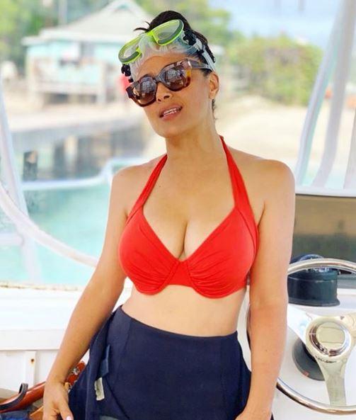 Salma Hayek Bikini Images