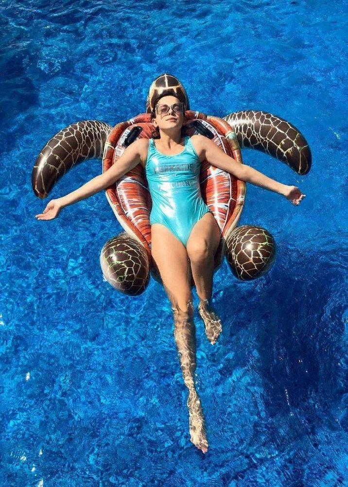 Millie Bobby Brown Swim Suit
