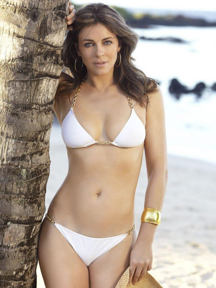 Elizabeth Hurley Hot Bikini Pictures