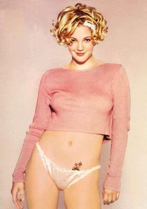 Drew Barrymore Bikini Pics