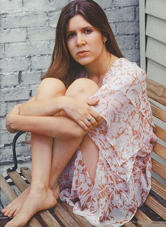 Hot Carrie Fisher